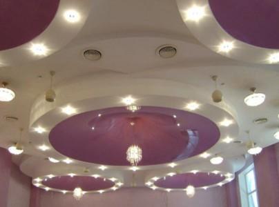 пример дизайна потолка
