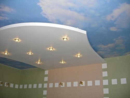 Каркас подвесного потолка и натяжного полотна