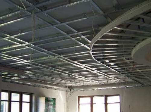 Как правильно сделать потолок из гипсокартона: последовательность работ