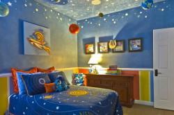 """Пример потолка """"Звездное небо"""""""