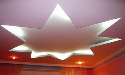 Приемов и идей декорирования потолка очень много