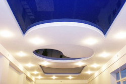 Дизайн потолка в стиле фэншуй