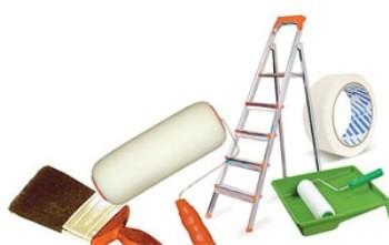 Что нужно для покраски потолка: технология окрашивания валиком, кистью