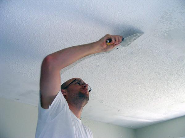 Как выровнять потолок под покраску своими руками?