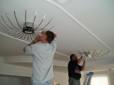 Дизайн подвесных потолков (фото)