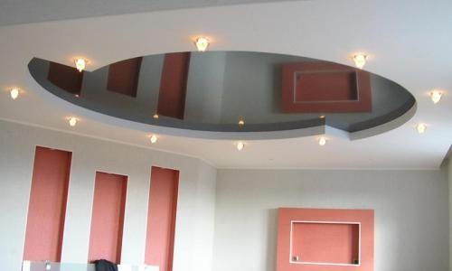 Подвесной потолок - это конструкция, которая состоит из металлического каркаса с зафиксированными на нем готовыми элементами в виде панелей, реек, плит, кассет либо ячеистых модулей.