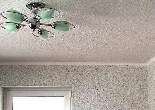 Оформление потолка на кухне: варианты
