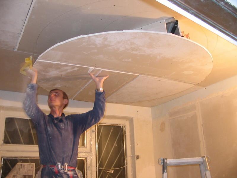 Ремонт потолок своими руками фото