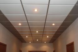 Двухцветный подвесной потолок