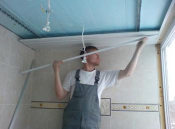Как сделать подвесной потолок самому?