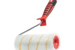 Валик для грунтования должен быть велюровым с ворсом до 11 мм.
