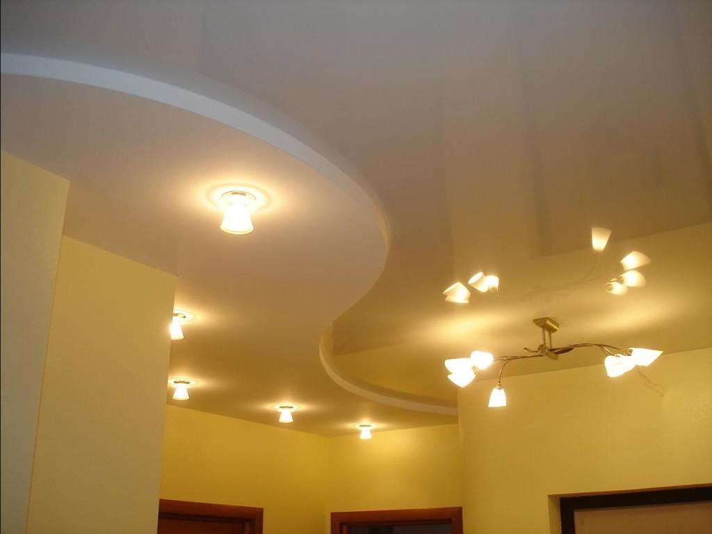 Дизайн подвесных потолков.