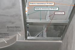 Схема двухуровневого гипсокартонного потолка