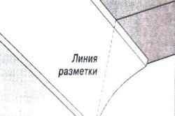Схема разметки потолочного плинтуса