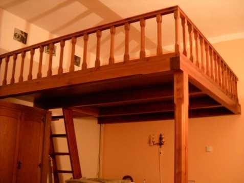 Кровать-антресоль