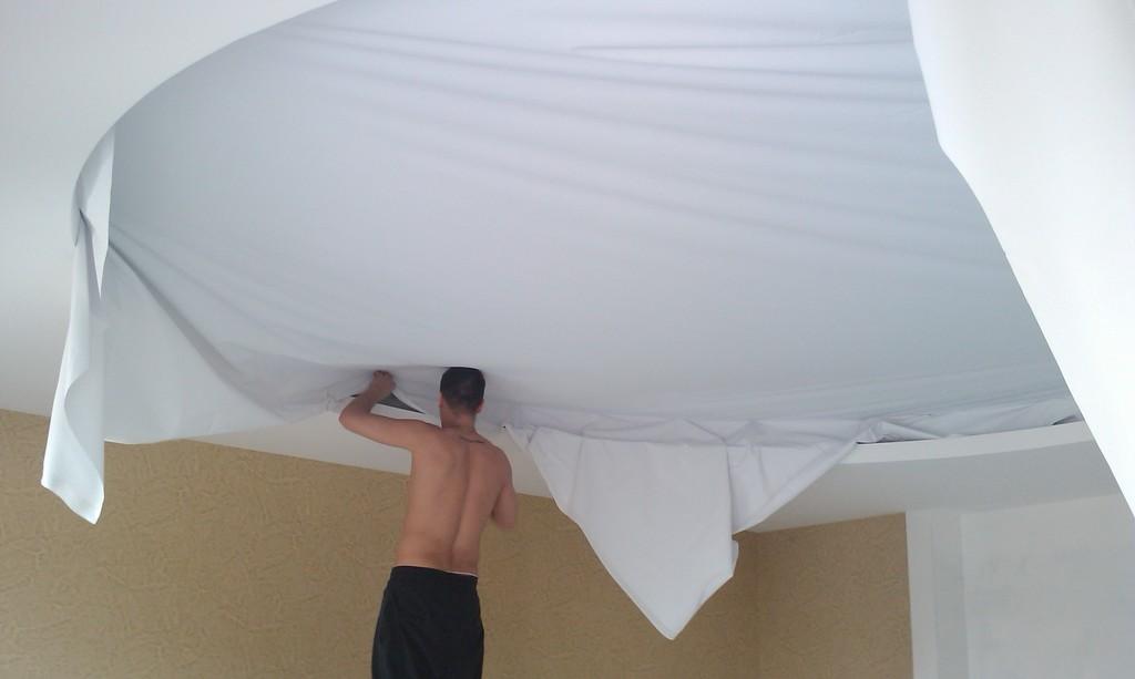 Бесшовные потолки