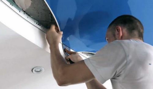Монтаж и демонтаж натяжного потолка своими руками