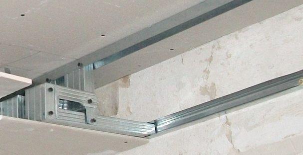 подсветка на потолке из гипсокартона фото