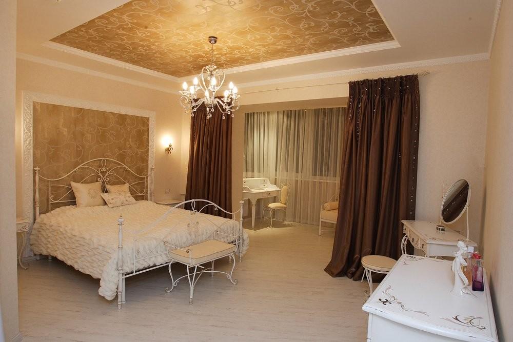 Дизайн освещения спальни (фото)