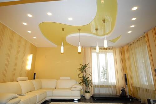 Декоративные потолки: подчеркните индивидуальность интерьера