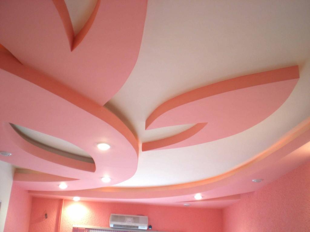 Фигуры из гипсокартона на потолке: особенности изготовления