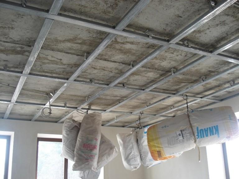 Обшивка потолка гипсокартоном своими руками: варианты