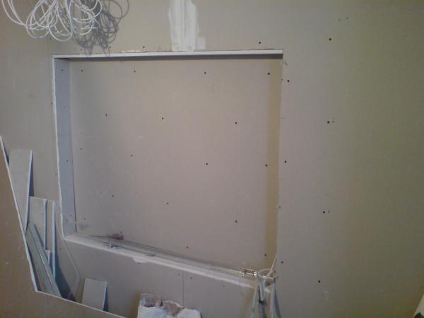 Стена из гипсокартона своими руками в ванной видео