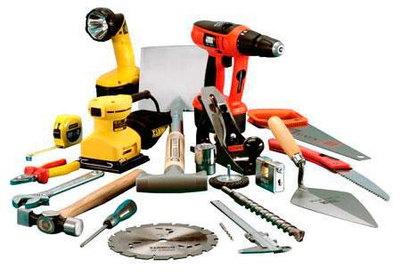 Инструменты для ремонта плит перекрытия
