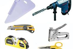 Инструменты для крепления тканевого потолка