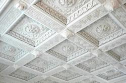 Кессонный потолок из строительного картона