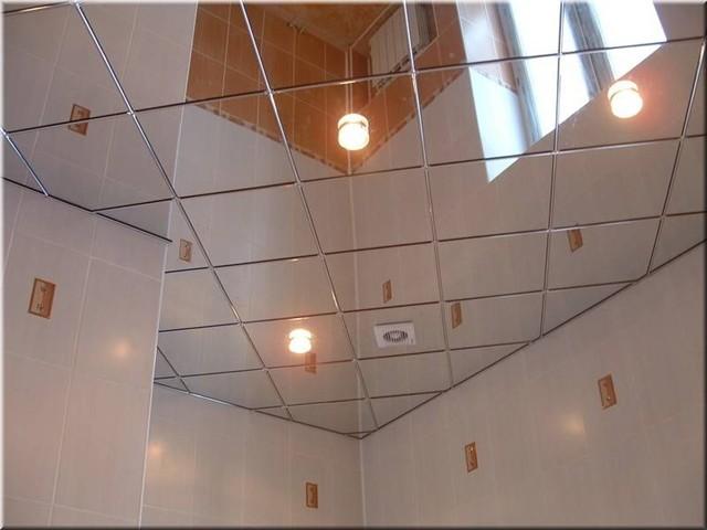 Клеевые потолки.