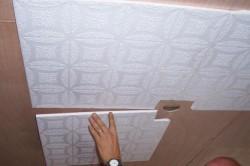 Крепление потолочной плитки