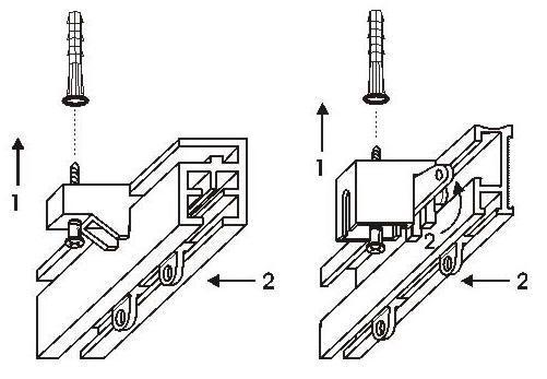 Схема установки потолочного карниза
