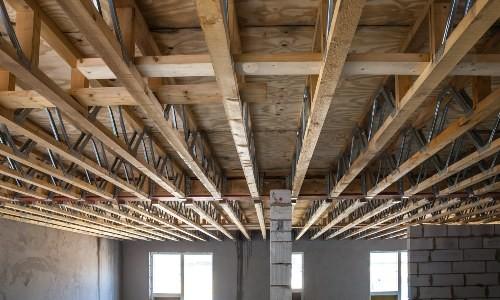 Перекрытие первого этажа: балочное, безбалочное, монолитное