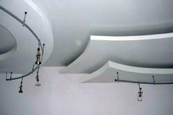 Многоуровневый потолок с подстветкой