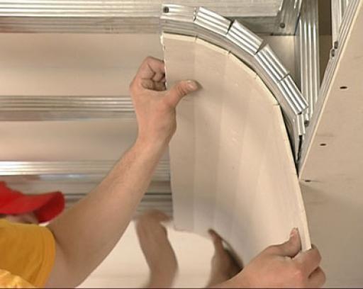 Как делать Потолки гипсокартона ремонт своими руками