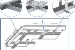 Двухуровневый способ монтажа потолка из ГКЛ