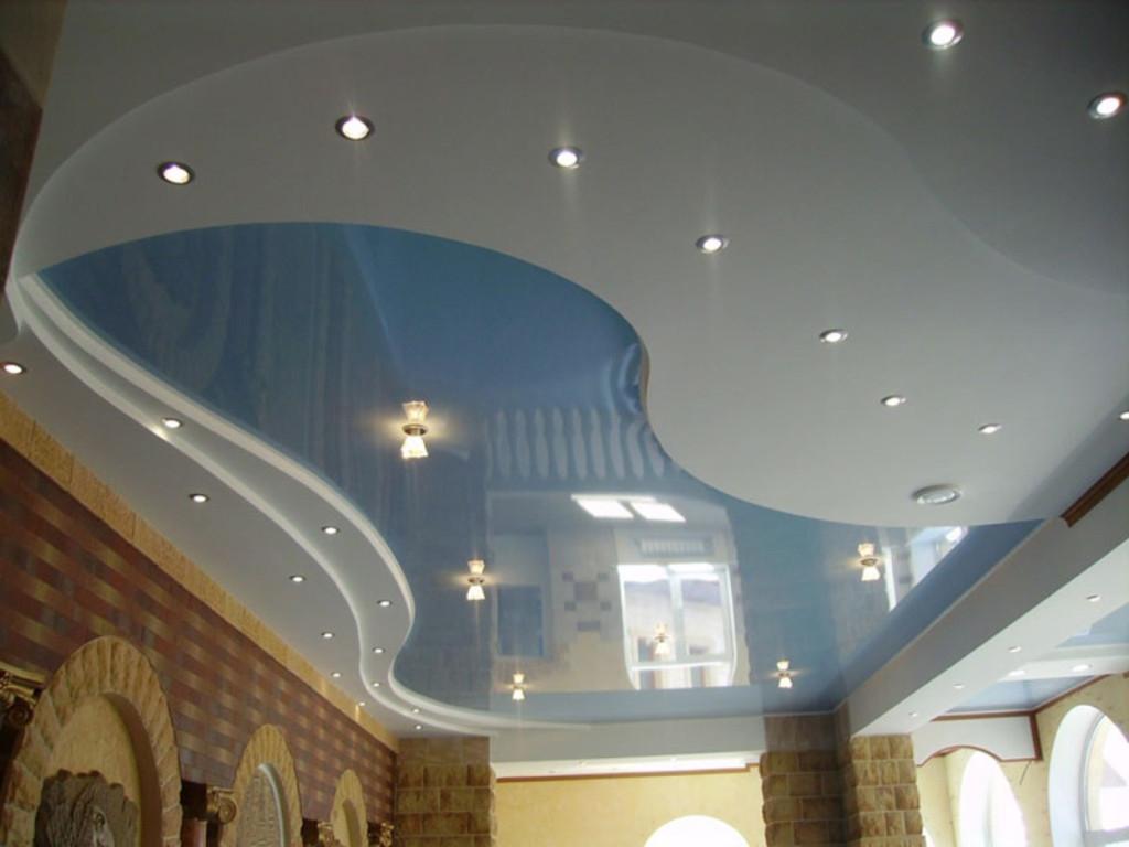 интерьер потолков фото