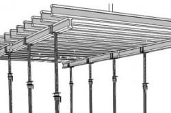 Опалубка бетонного потолка