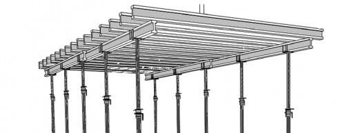 Как залить потолок бетоном устройство опалубки, укрепление структуры, заливка
