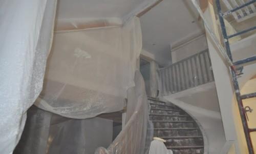 Подготовка помещения к ремонту потолка