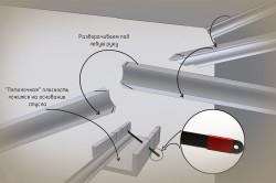Как крепить потолочный плинтус