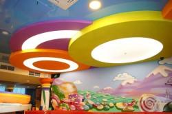 Подвесной комбинированный потолок