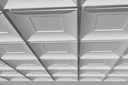Подвесной потолок из гипса