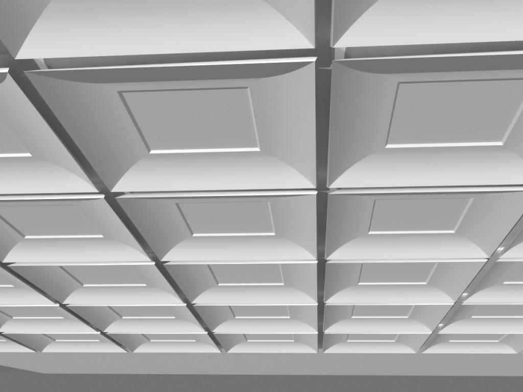 Гипсовые потолки: облегченные варианты, необлегченные панели, лепнина