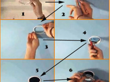 Схема установки светильника в подвесной потолок