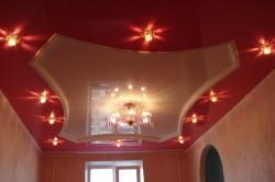 Вариант дизайна потолка.