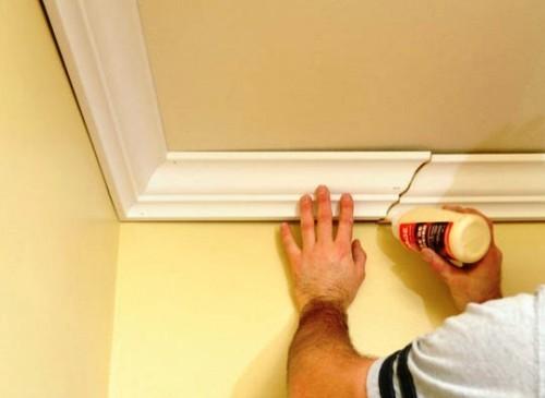 Декорирование потолка своими руками