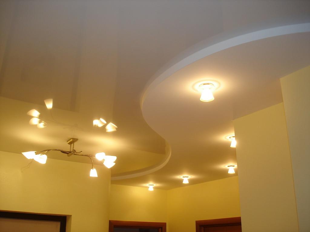 Подвесной потолок с применением гипсокартонных листов – отличное решение для ремонта, отделки квартир и других помещений.