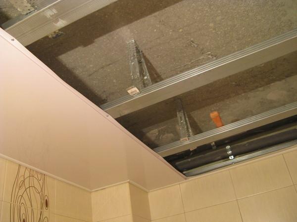 Plafond pvc pour salle de bain villeneuve d 39 ascq tarif for Tarif faux plafond